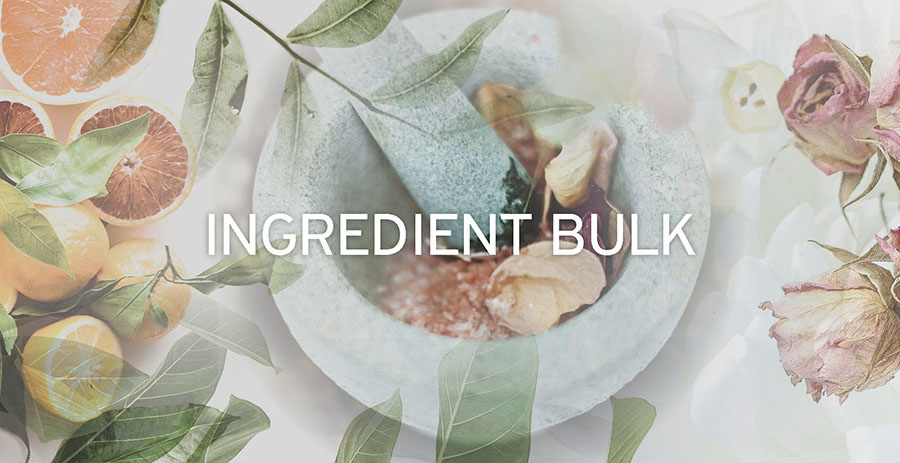 Ingredient BULK options